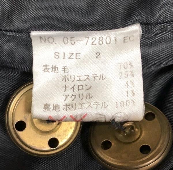 ユニバーサルミューズ コート サイズ2 M 黒