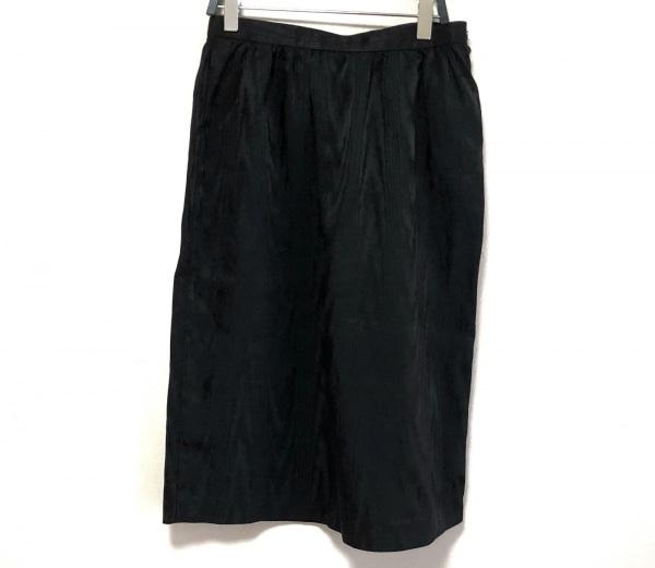 【中古】 ハナエモリ HANAE MORI スカート レディース 黒