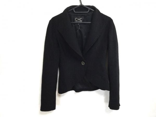 クードシャンス ジャケット サイズ36 S レディース 黒 1