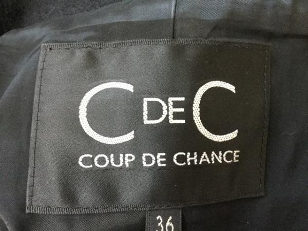 クードシャンス ジャケット サイズ36 S レディース 黒 3