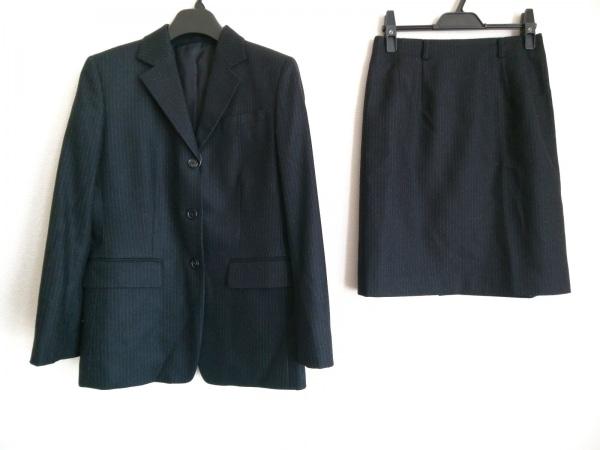 コムサデモード スカートスーツ サイズM 黒