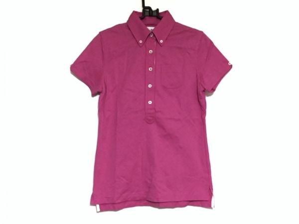 ブラックフリース バイ ブルックスブラザーズ 半袖ポロシャツ レディース美品  ピンク