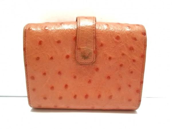 ISOLA(アイソラ) 2つ折り財布 オレンジ