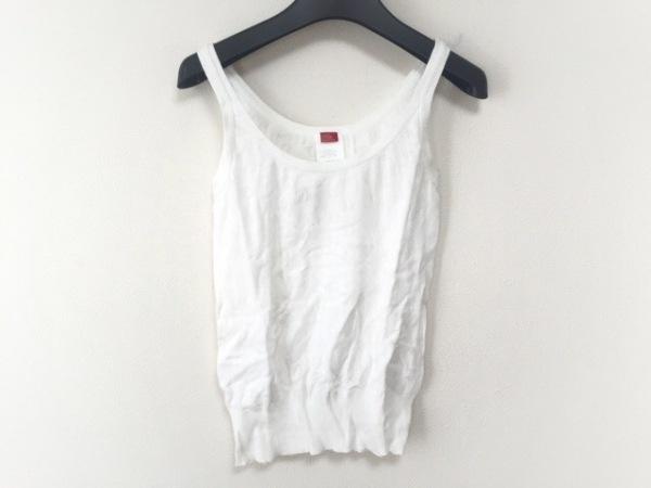 【中古】 ダブルスタンダードクロージング DOUBLE STANDARD CLOTHING タンクトップ レディース 白