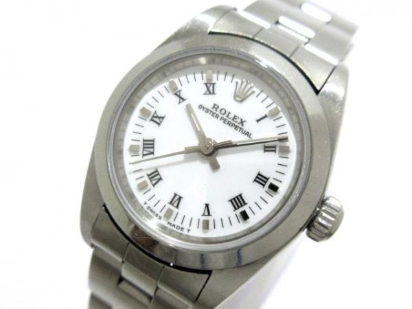 ロレックス 腕時計 76080 レディース 白