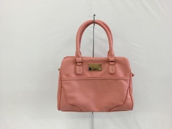 セシルマクビー ハンドバッグ美品  ピンク