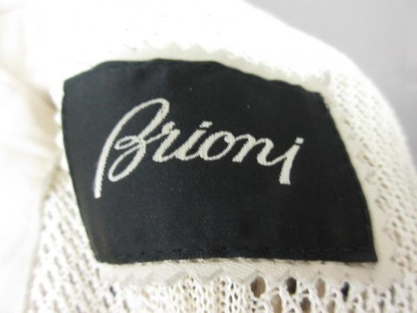 Brioni(ブリオーニ) ブルゾン メンズ美品  ベージュ レザー 3
