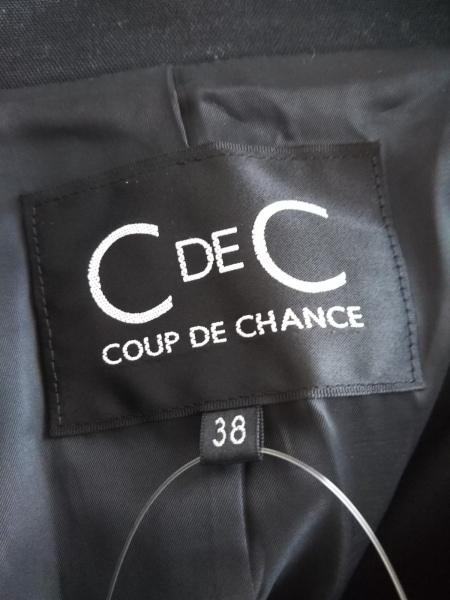 CdeC COUP DE CHANCE(クードシャンス) ジャケット レディース 黒 3