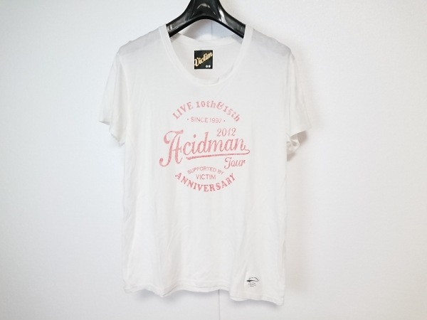 VICTIM(ヴィクティム) 半袖Tシャツ サイズM