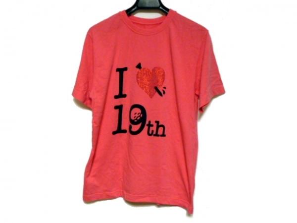 ラッセルノ 半袖Tシャツ サイズL ピンク
