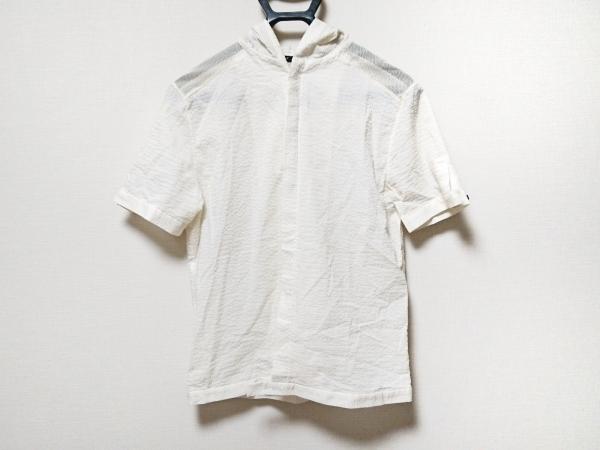ato(アトウ) 半袖シャツ サイズM メンズ 白