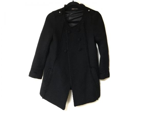 フリーズフレーズ コート サイズS美品  黒