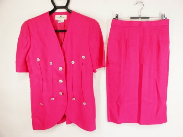 PIERRE BALMAIN(ピエールバルマン) スカートスーツ サイズ9 M レディース ピンク