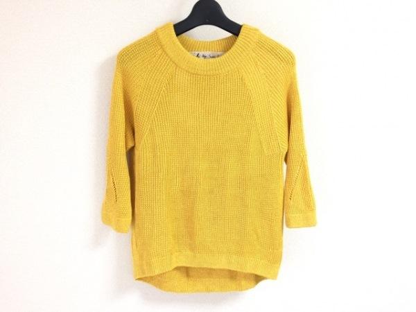 アイエルバイサオリコマツ 七分袖セーター