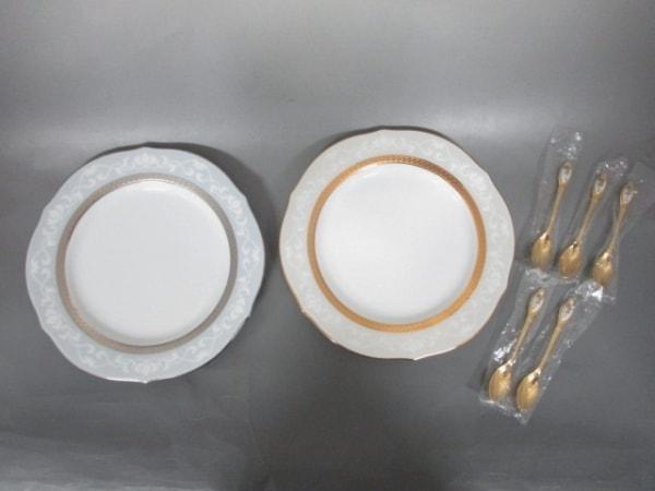 ノリタケ 食器新品同様  陶器×金属素材