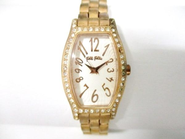 フォリフォリ 腕時計 WF8B026BP レディース