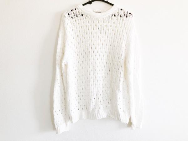 オープニングセレモニー 長袖セーター サイズOS レディース美品  白