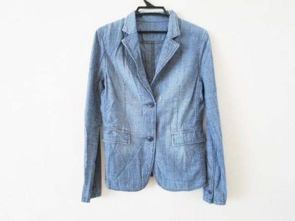 プラステ ジャケット サイズ0 XS ブルー