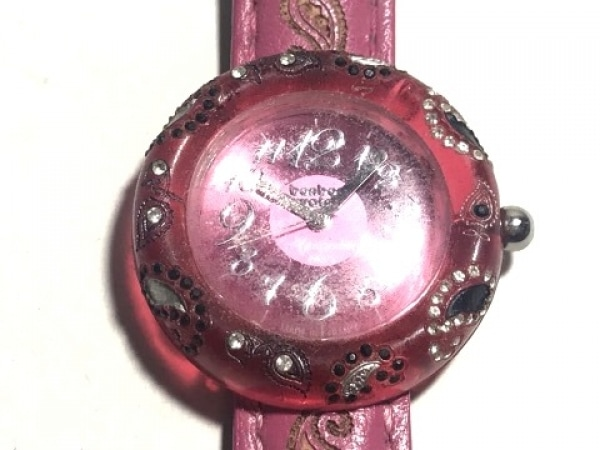 BONBONWATCH(ボンボンウォッチ) 腕時計 - レディース ピンク