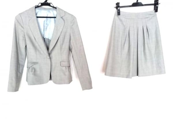 CrystalSylph(クリスタルシルフ) スカートスーツ サイズ32S レディース ライトグレー