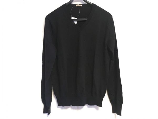 ラクアアンドシー 長袖セーター サイズS 黒