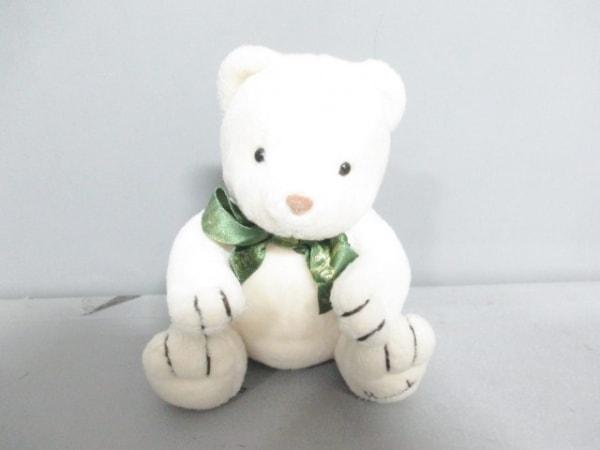 ハロッズ ぬいぐるみ美品  白 クマ