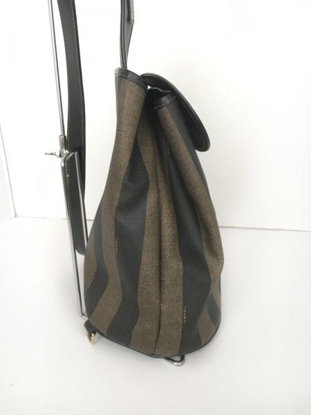 FENDI(フェンディ) ワンショルダーバッグ美品  ペカン - ストライプ 2