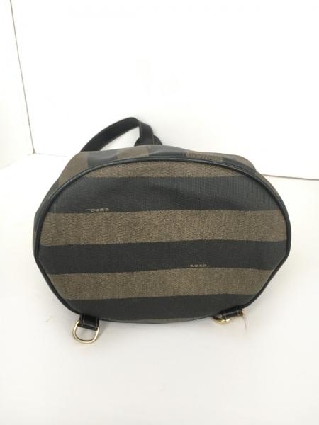 FENDI(フェンディ) ワンショルダーバッグ美品  ペカン - ストライプ 4
