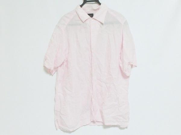 ブリラ 半袖シャツ サイズL メンズ ピンク