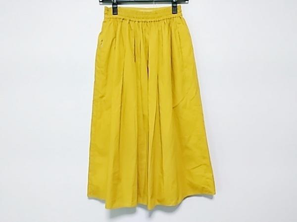 ANGLOBAL SHOP(アングローバルショップ) スカート サイズ36 S レディース イエロー