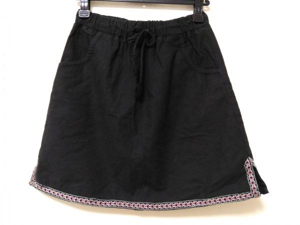 カブー スカート レディース 刺繍/麻混