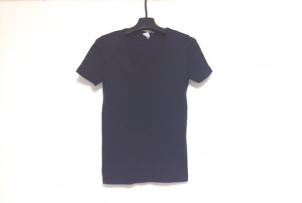【中古】 プチバトー PETIT BATEAU 半袖Tシャツ サイズM レディース 黒