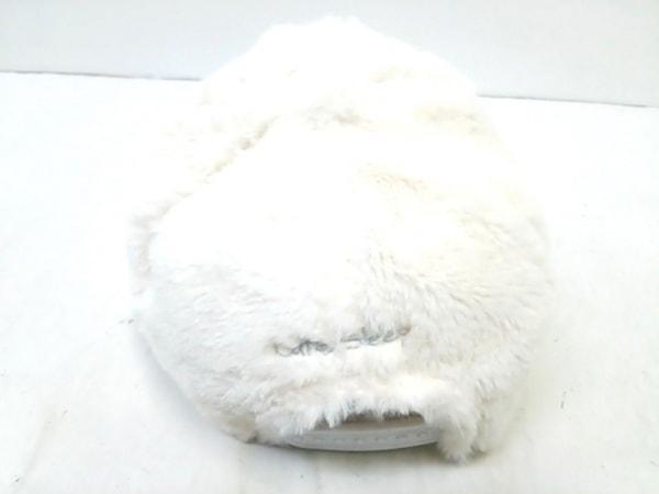 ノーブランド キャップ美品  白 3