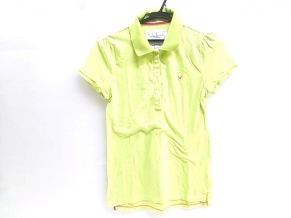 【中古】 アメリカンイーグル American Eagle 半袖ポロシャツ レディース グリーン