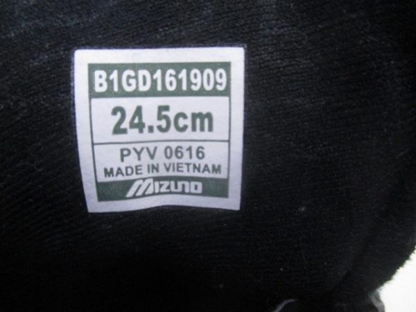 ノーブランド スニーカー 24.5 ユニセックス 黒 6
