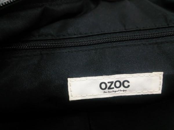 オゾック クラッチバッグ グレー×アイボリー×ピンク×ベージュ 6