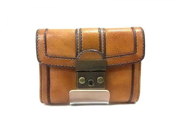 FOSSIL(フォッシル) 3つ折り財布 ブラウン 1