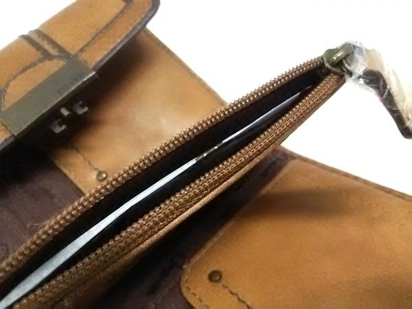 FOSSIL(フォッシル) 3つ折り財布 ブラウン 4