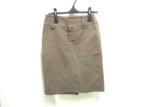 UNTITLED(アンタイトル) スカート サイズM レディース美品  ブラウン 1