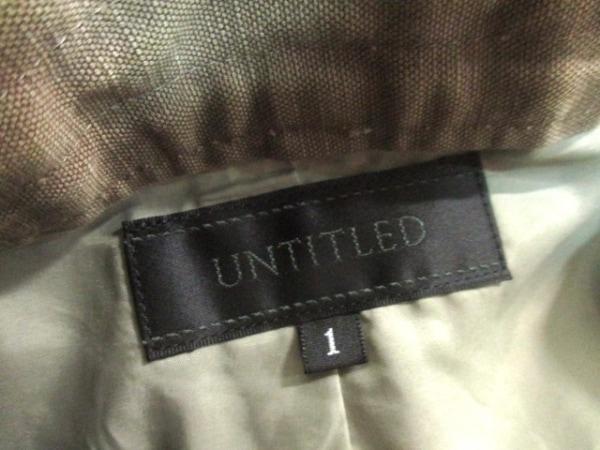 UNTITLED(アンタイトル) スカート サイズM レディース美品  ブラウン 3