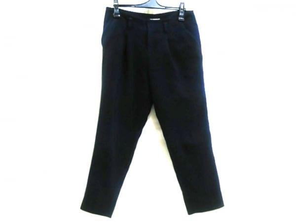 【中古】 エル ELLE パンツ サイズ40 M レディース ネイビー