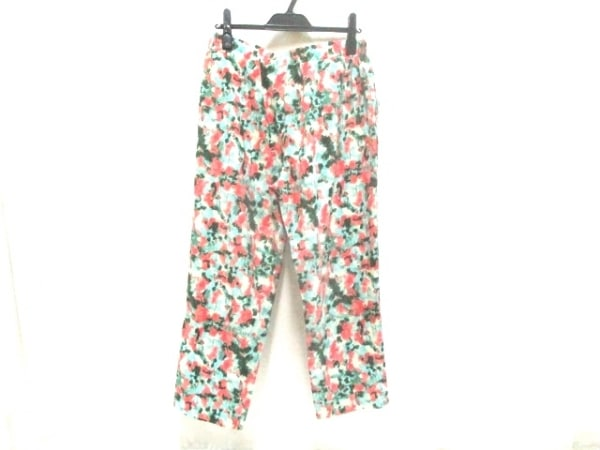 【中古】 サンカンシオン 3can4on パンツ サイズ3 L レディース グリーン マルチ