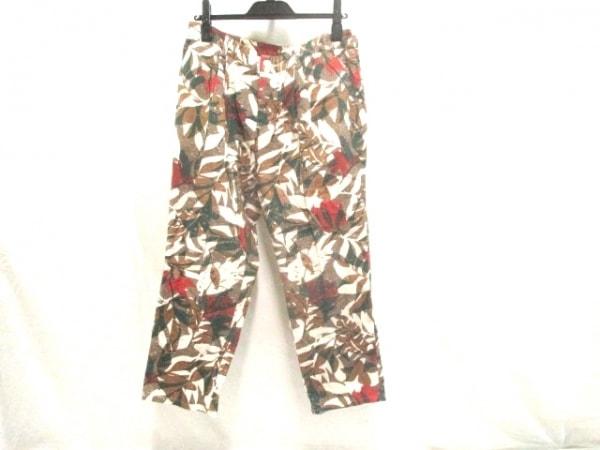【中古】 サンカンシオン 3can4on パンツ サイズ3 L レディース ブラウン マルチ