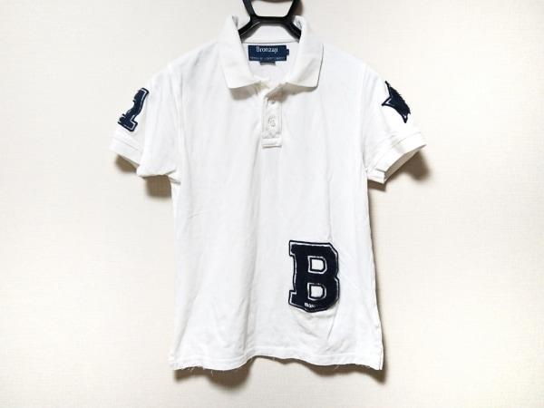 ブロンザージ 半袖ポロシャツ サイズM美品