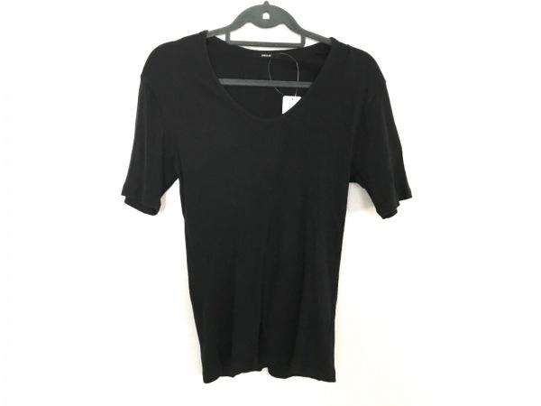 シェラック 半袖カットソー サイズ44 L 黒