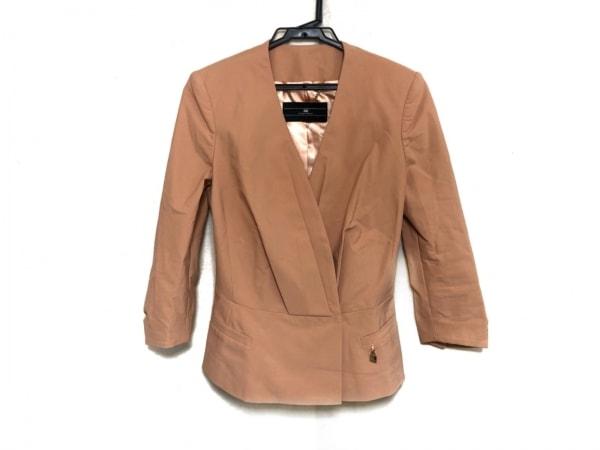 エリザベッタフランキ ジャケット サイズ42 L レディース美品  ピンク 肩パッド