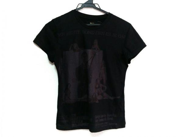 DRESS33(ドレスサーティースリー) 半袖Tシャツ サイズ38 M レディース美品  黒 007