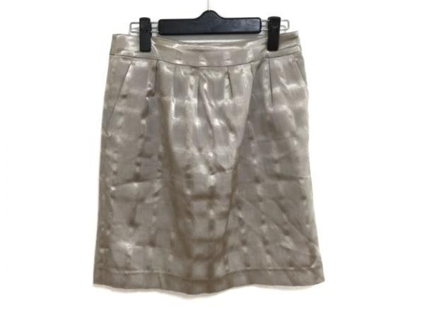 ミラーミラーオンザウォール スカート サイズ38 M レディース美品  ベージュ