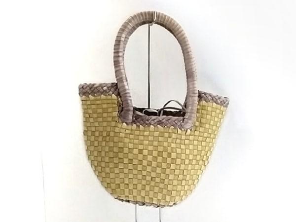 パオロマージ ハンドバッグ 編み込み
