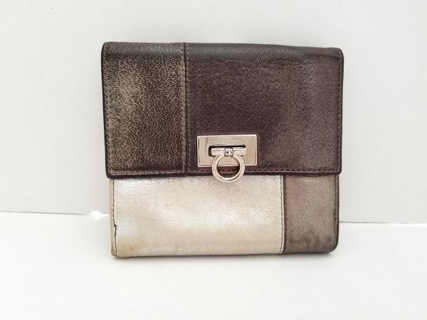 サルバトーレフェラガモ Wホック財布